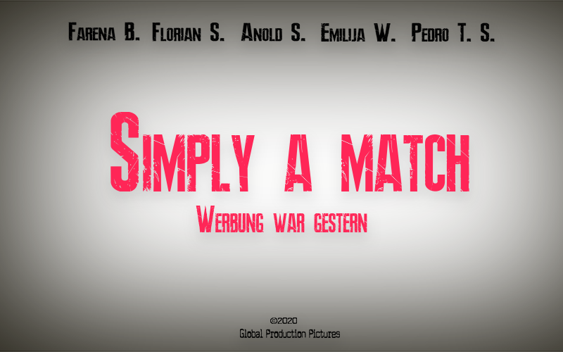 Cover Simply a match Global Production Pictures