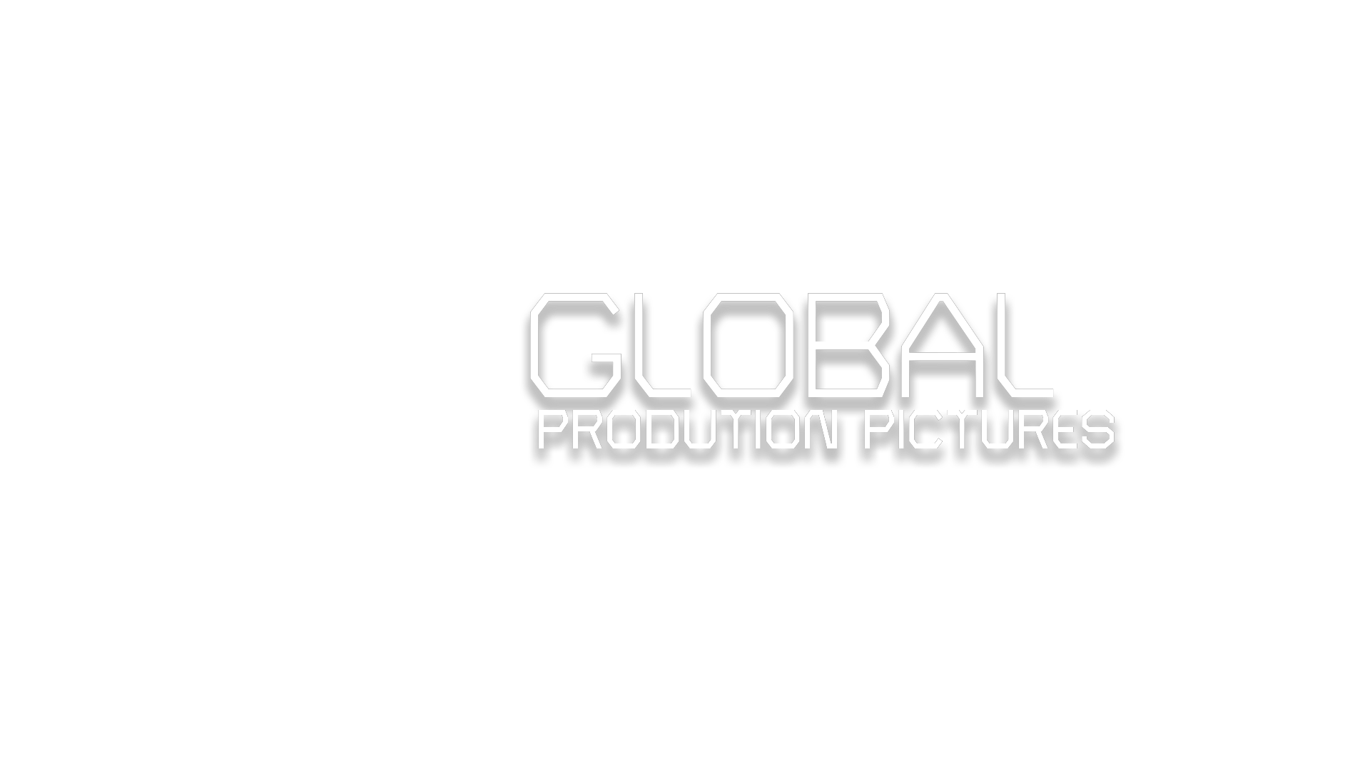 Global Production Picture white logo